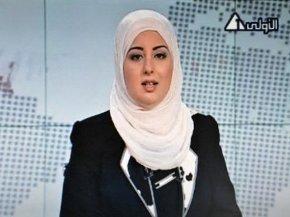 Nữ phát thanh viên đầu tiên của Ai Cập không phải che mặt