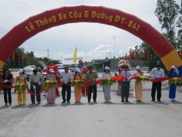 Đồng Tháp hoàn thành đường ĐT - 841