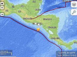 Động đất 7,9 độ richter, cảnh báo sóng thần ở Trung Mỹ