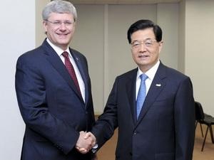 Canada và Trung Quốc ký hiệp định bảo hộ đầu tư
