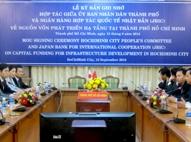 TPHCM và Nhật Bản hợp tác lập quỹ đầu tư phát triển cơ sở hạ tầng