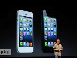 Apple chính thức giới thiệu iPhone 5