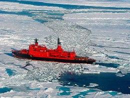 Nga đóng tàu phá băng hạt nhân lớn nhất thế giới