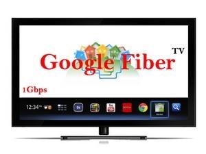 Google Fiber TV cung cấp gần 200 kênh truyền hình