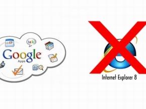 Từ ngày 15/11, Google ngừng hỗ trợ trình duyệt IE8