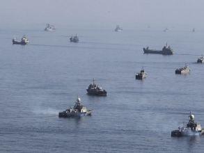 Mỹ và đồng minh bắt đầu tập trận quy mô lớn ở vùng Vịnh