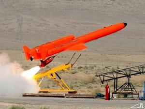 Iran có máy bay không người lái mang được tên lửa