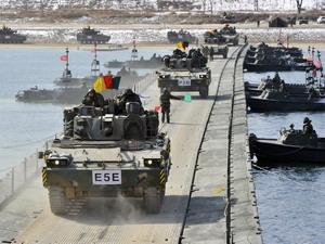 Hàn Quốc tổ chức tập trận hải quân đa quốc gia