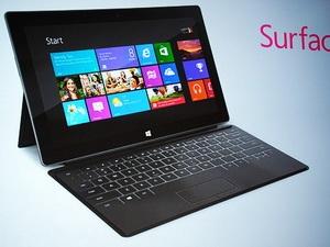Microsoft công bố giá các mẫu máy tính bảng Windows 8