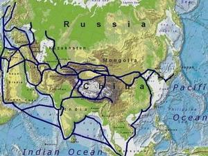 Thúc đẩy thương mại Á-Âu với con đường tơ lụa