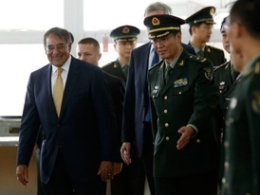 Bộ trưởng quốc phòng Mỹ tới căn cứ hải quân Trung Quốc
