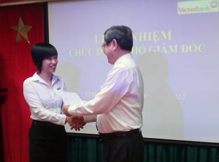 VietinBank bổ nhiệm Phó giám đốc chi nhánh 1, TPHCM