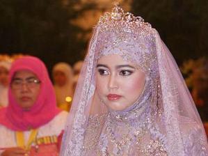 Đám cưới xa hoa của công chúa Brunei