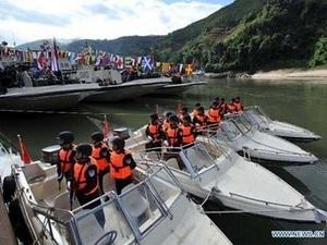Trung Quốc, Lào, Myanmar, Thái Lan bắt đầu tuần tra chung