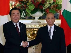 Nhật Bản sẽ thuyết phục các nước xóa nợ cho Myanmar