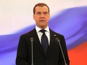 Thủ tướng Medvedev: Nga đã ra khỏi khủng hoảng