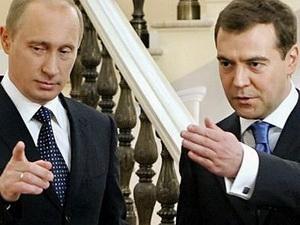 Thủ tướng Nga chỉ trích tổng thống Putin
