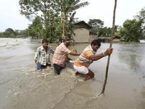 Lũ lụt khiến hơn 1 triệu người Ấn Độ phải sơ tán