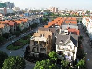 Giá nhà biệt thự, liền kề Hà Nội tiếp tục xu hướng giảm