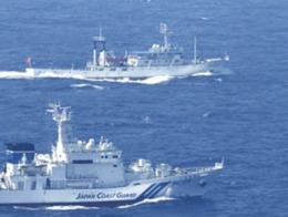 Trung Quốc thừa nhận điều tàu tuần tra tới đảo tranh chấp với Nhật Bản
