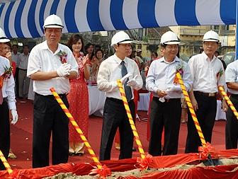 Nam Định: Khởi công trung tâm thương mại gần 69.000m2