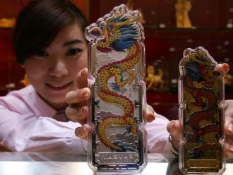Doanh số bán vàng Trung Quốc tăng mạnh tuần nghỉ lễ
