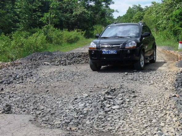 Đắk Lắk nâng cấp Quốc lộ 29 vào 2013
