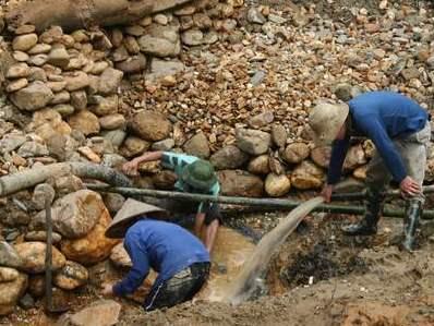 Quảng Nam thu hồi 8 giấy phép khai thác khoáng sản