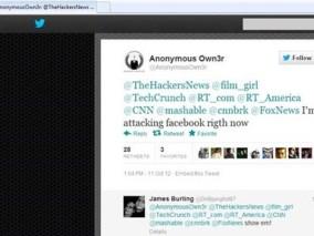 Anonymous đánh sập Facebook