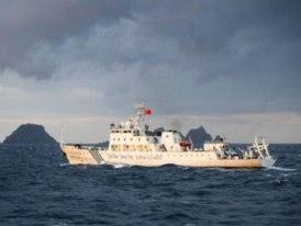 7 tàu hải quân Trung Quốc vào vùng biển Nhật Bản
