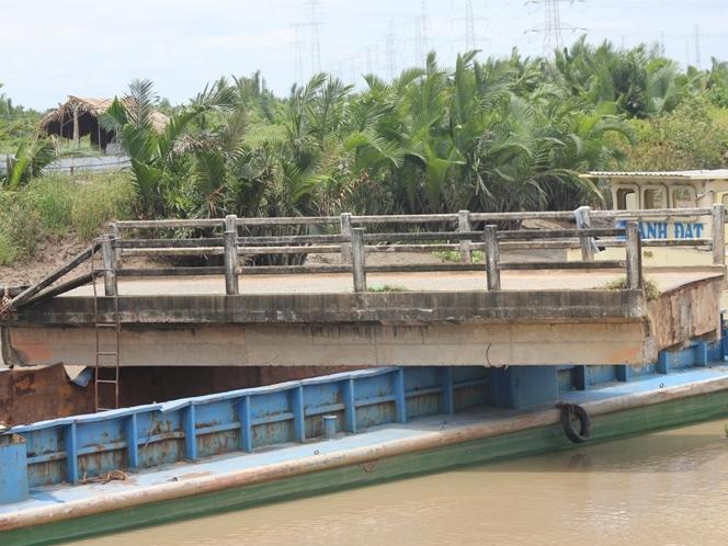 TPHCM chỉ đạo sửa chữa cầu Kho Đồng