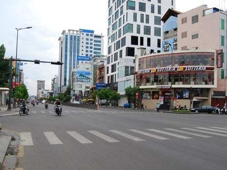 TPHCM điều chỉnh giao thông tại giao lộ Nguyễn Thị Minh Khai – Cách Mạng Tháng Tám, quận 1, 3