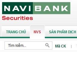 Chứng khoán Navibank: Tổng tài sản cuối quý III bằng 1/3 so với đầu năm
