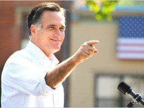 Ứng viên Mitt Romney dẫn điểm ở một số bang do được lòng phái đẹp