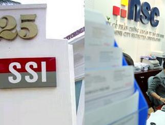 SSI và HSC: Quý III kinh doanh kém hiệu quả, hoạt động môi giới đi xuống