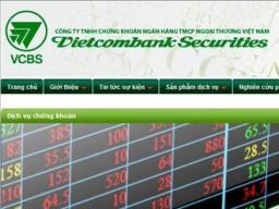 Chứng khoán Vietcombank lãi quý III tăng mạnh nhờ hoạt động đầu tư, góp vốn