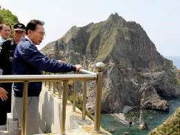 Tổng thống Hàn Quốc thăm đảo gần biên giới Triều Tiên