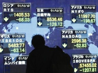 Chứng khoán châu Á có phiên giảm đầu tiên trong 4 ngày