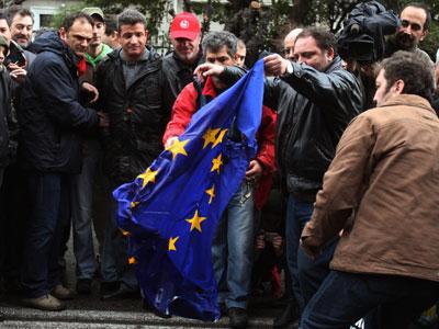 Hy Lạp có thể mất 100 triệu euro/ngày do đình công
