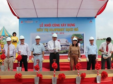 63 tỷ đồng xây siêu thị Co.opMart Rạch Giá, Kiên Giang