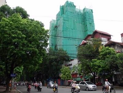 Hà Nội xử lý 400 trường hợp vi phạm xây dựng