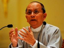Tổng thống Myanmar lần đầu tiên xuất hiện trước giới truyền thông