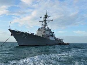 Các tàu Mỹ tới Campuchia diễn tập hải quân chung
