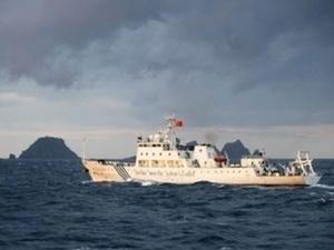 Phát hiện tàu chiến Trung Quốc gần vùng biển Nhật