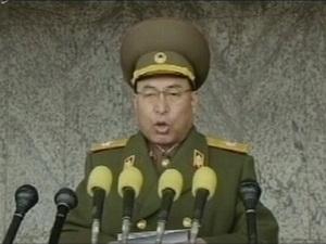 Triều Tiên tử hình thứ trưởng bộ Các lực lượng vũ trang