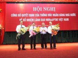Agribank bổ nhiệm 3 lãnh đạo cấp cao