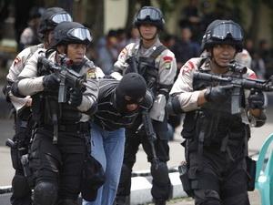 Indonesia bắt 11 nghi can âm mưu tấn công sứ quán Mỹ
