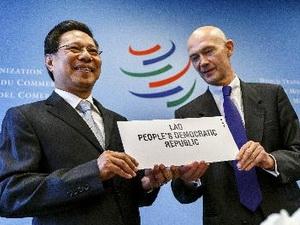 Lào chính thức thành thành viên mới của WTO