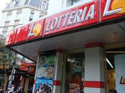 Lotteria lùi thời gian nhượng quyền thương mại tới năm 2013