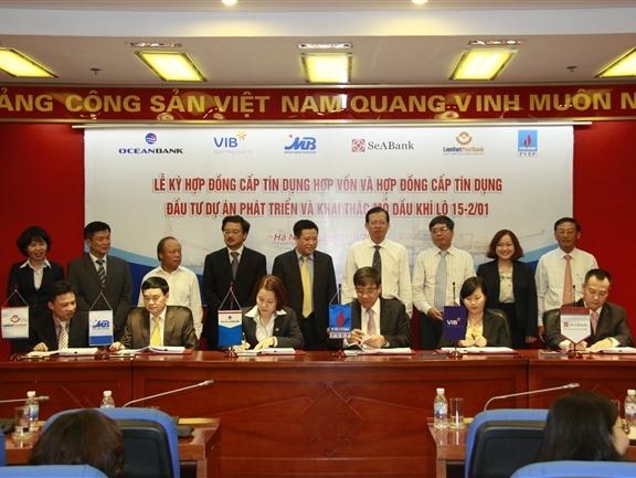 5 ngân hàng cho PVEP vay 140 triệu USD đầu tư khai thác dầu khí